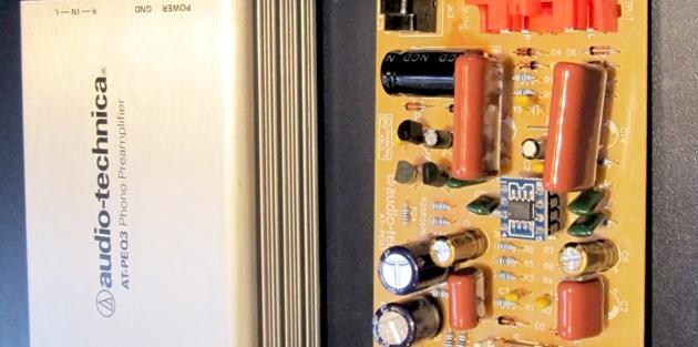 Audio Technica PEQ3 Pre-Amplifier Upgrade Modification