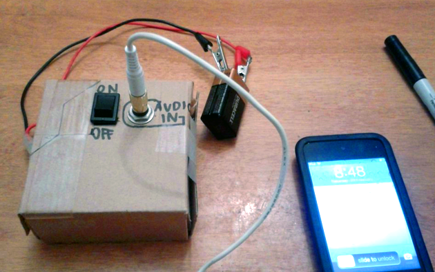 Ultra Low-Tech DIY FM Radio Transmitter