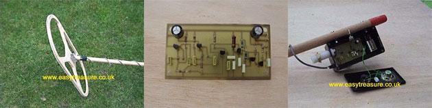 DIY Beat Frequency Oscillator Metal Detector