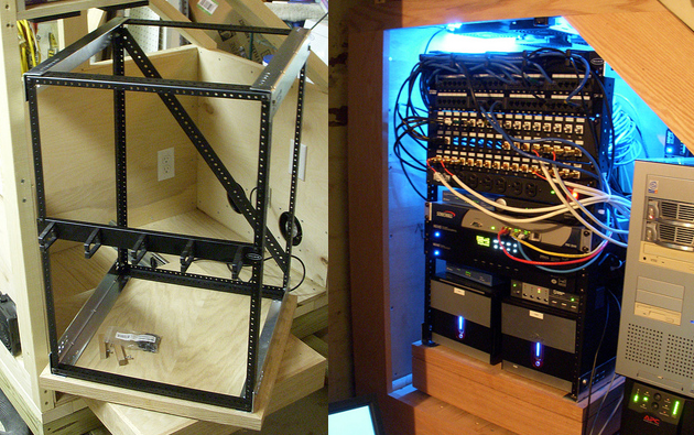 DIY Network Server Rack