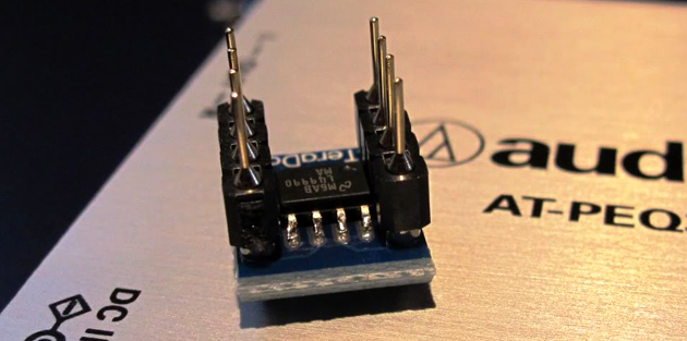 Texas Instruments LME49990 DIP Adapter