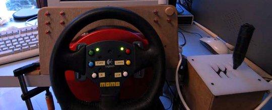 Bragi DIY Racing Simulator Console