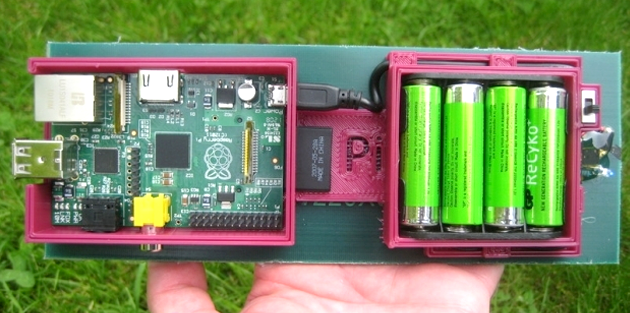 Solar Powered Raspberry Pi FTP Server