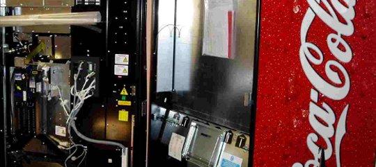 Coca-Cola Vending Machine Firmware Update