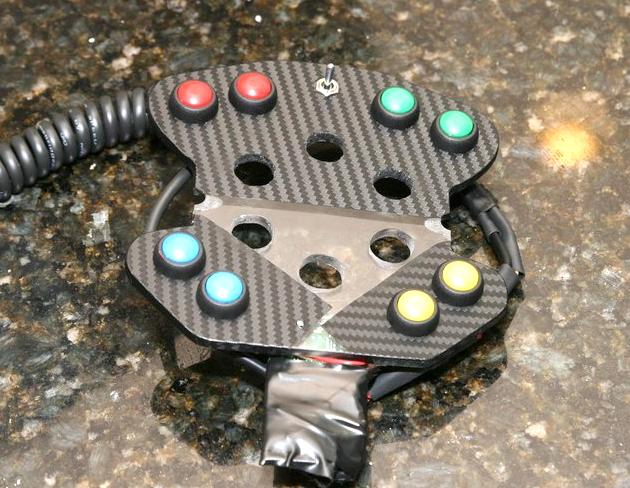 DIY Logitech G27 Steering Wheel Buttons